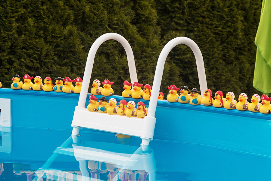 Above Ground Pool Party Idea Rubber Ducks