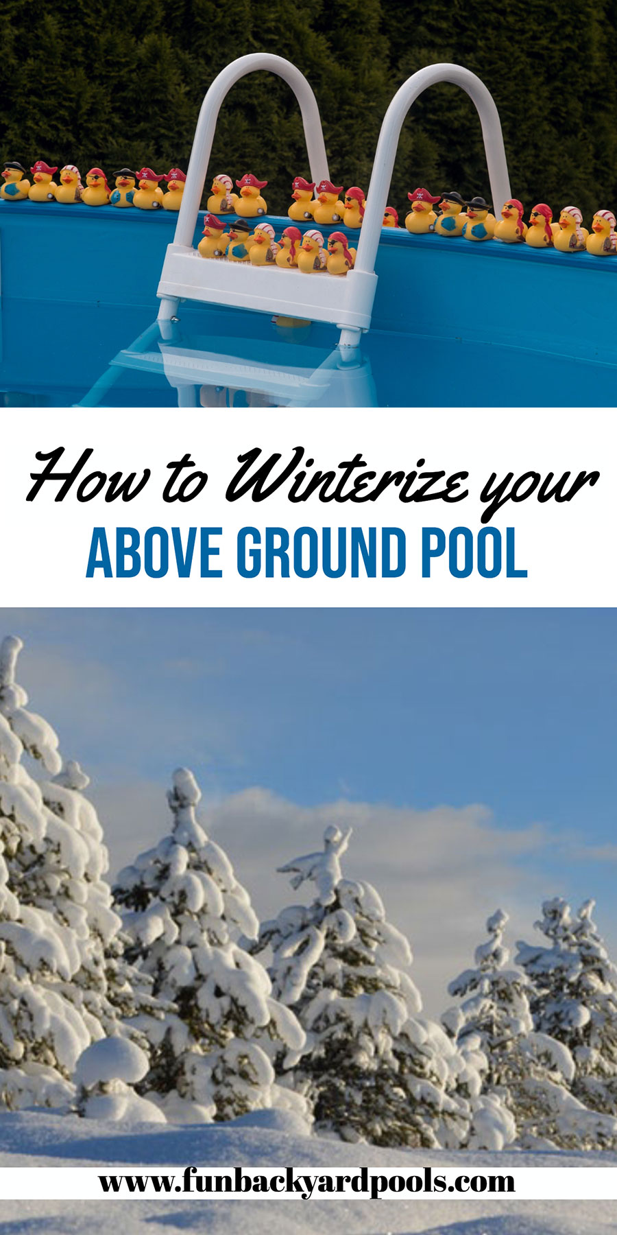 Winterize Above Ground Pool